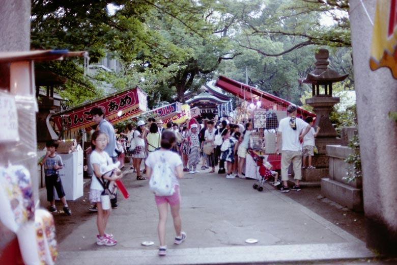 神社お祭り
