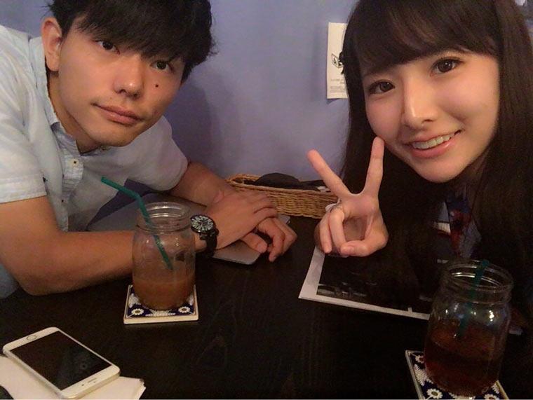 小野友暉と双松桃子