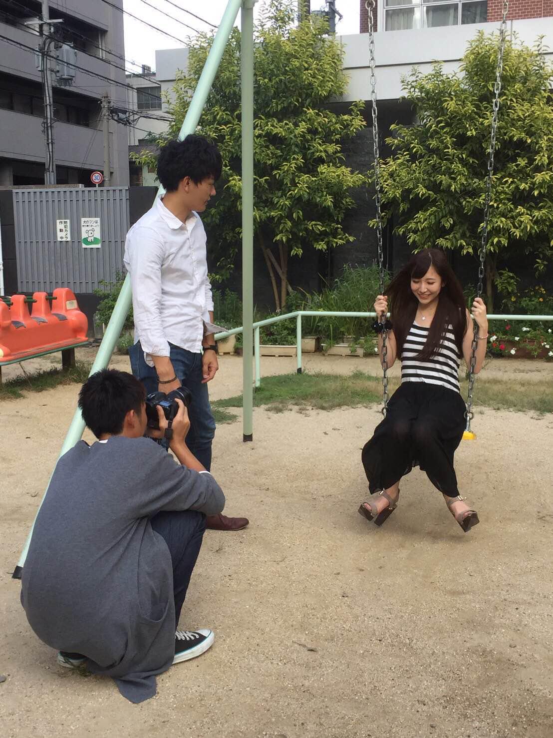 関西写真部の新メンバーと女優、モデルの双松桃子(ふたまつももこ)さんの撮影をしてきました!