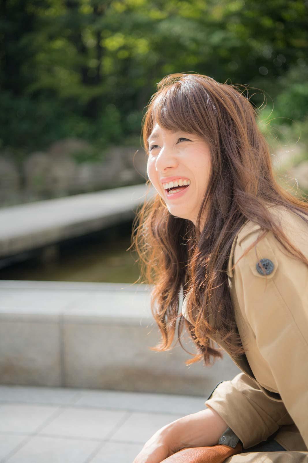 モデル長谷川清乃さん