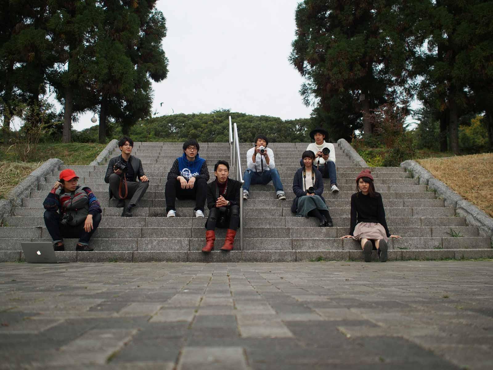 写真部SHARE初の撮影会を開催!花博記念公園鶴見緑地へ行ってきました!