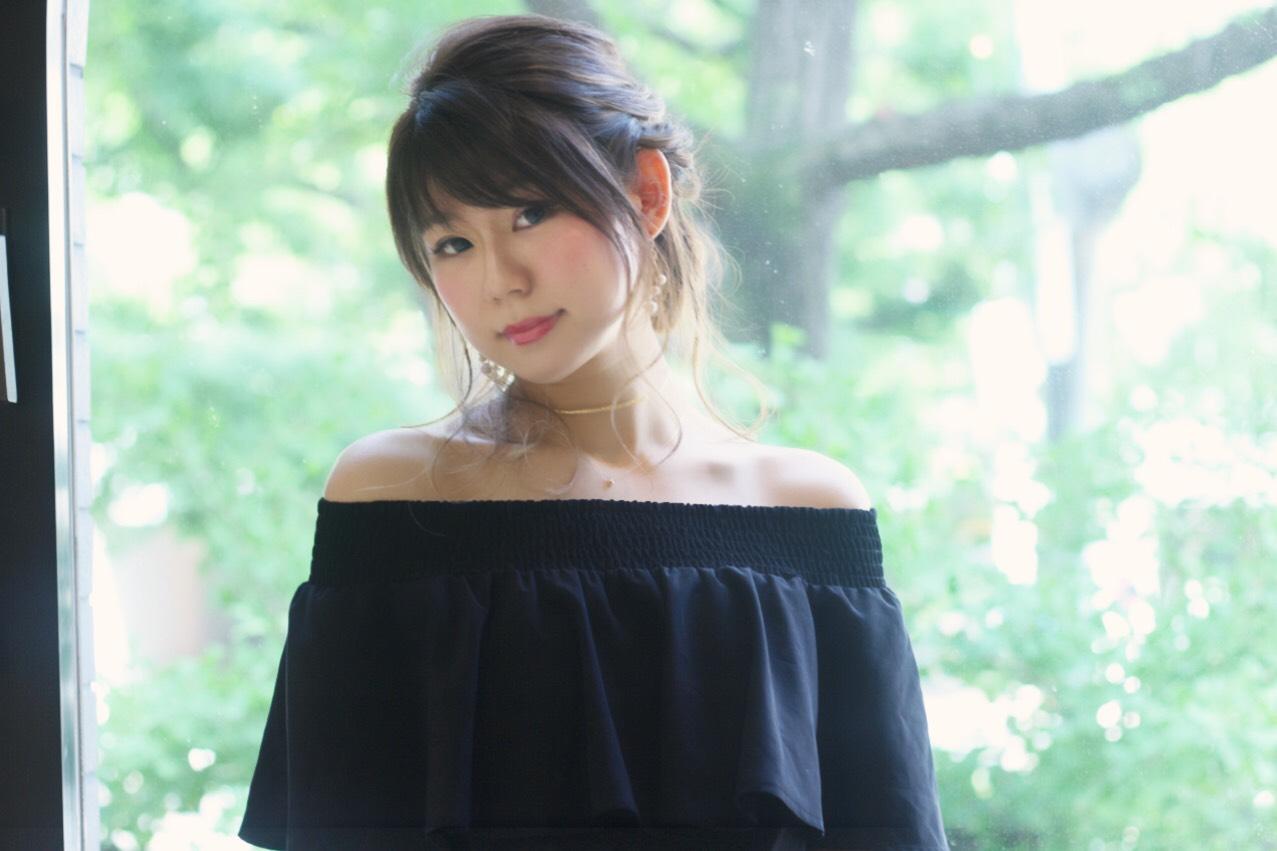 モデル奈都妃