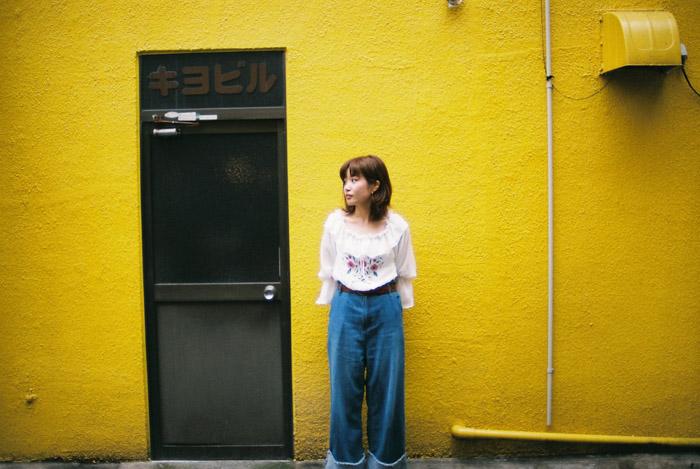 モデル山本果奈