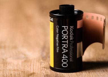 Kodak PORTRA400フィルム