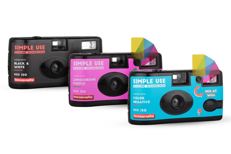 ロモグラフィー Simple Use Film Camera レンズ付きフィルムとは?