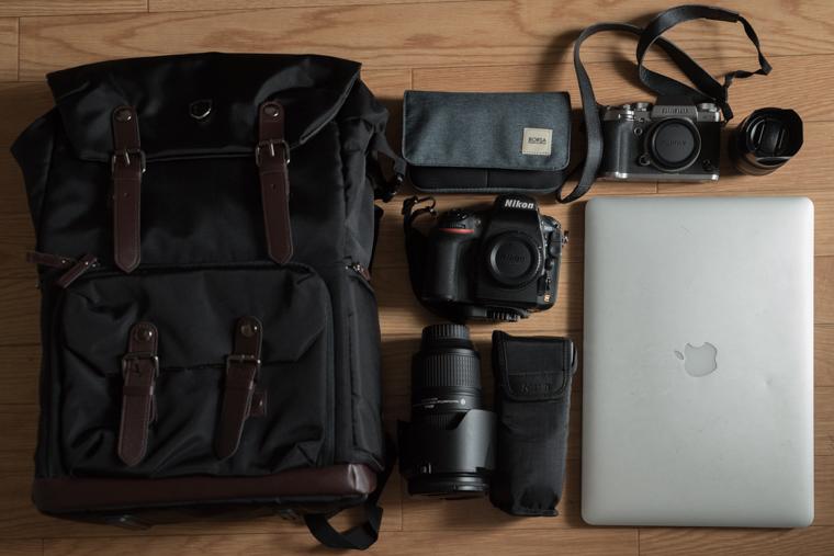 Bagsmartのカメラバッグ検証その2