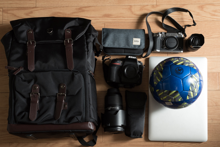 Bagsmartのカメラバッグ検証その3
