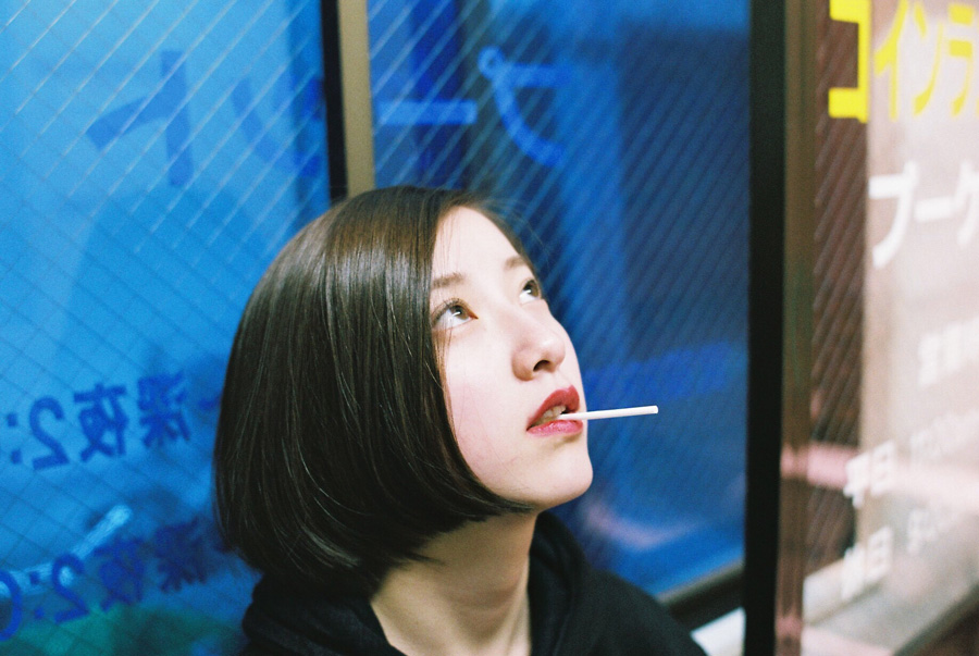 モデル舩井虹帆