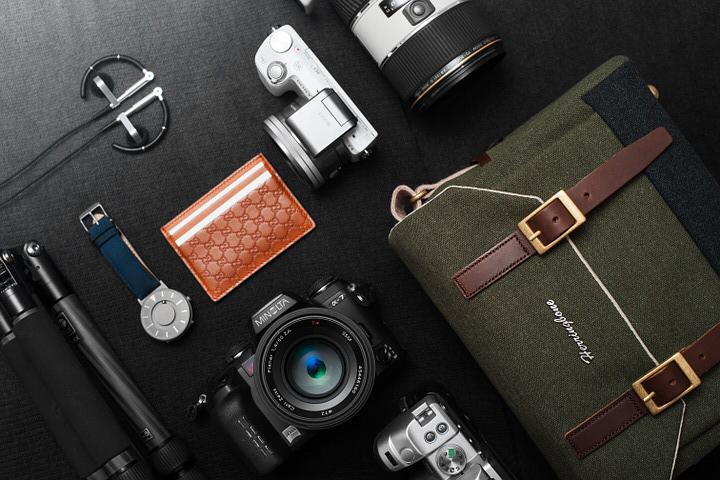 撮影に合わせてバッグのタイプを選ぶ