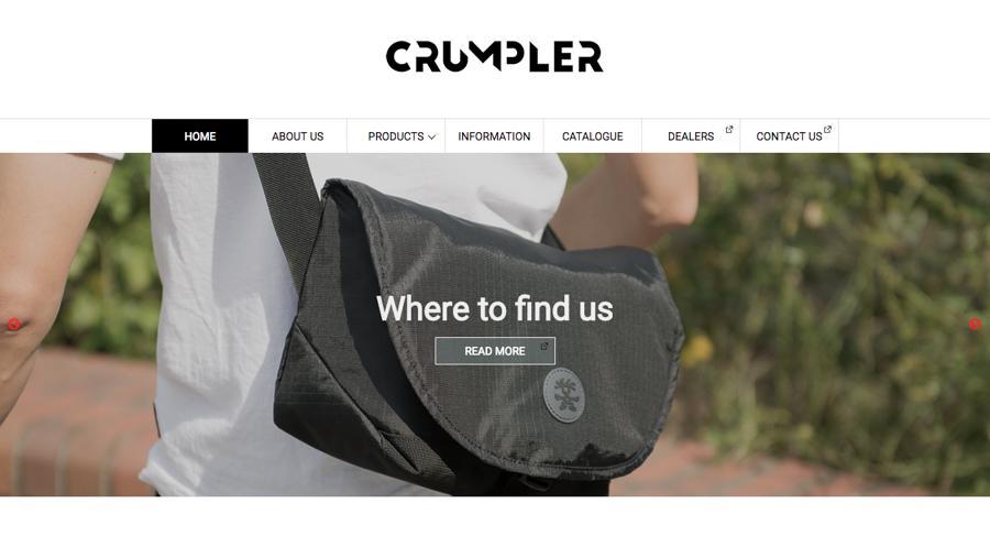 crumpler公式サイト