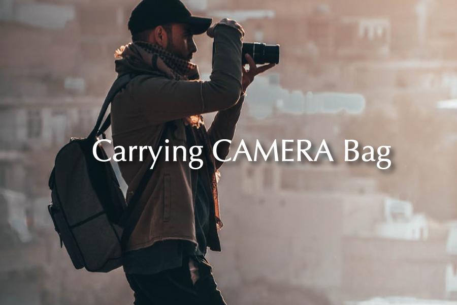 キャリングカメラバッグ
