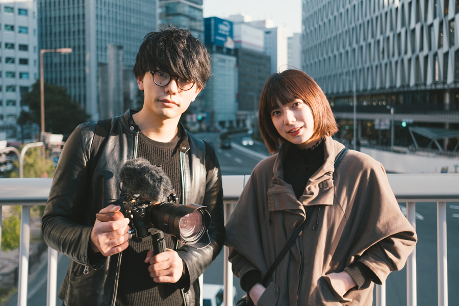 写真家 小野友暉×モデル Minori