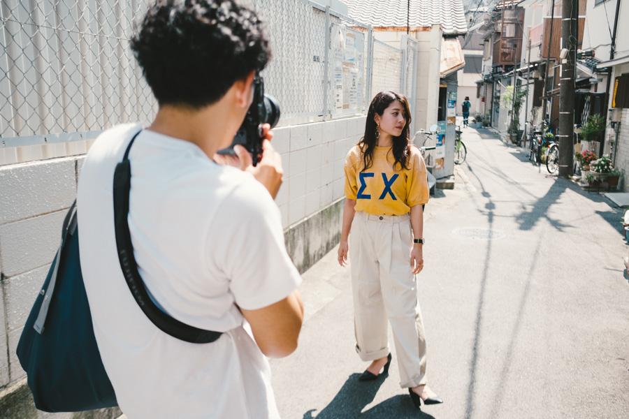 写真家小野友暉&モデルKie