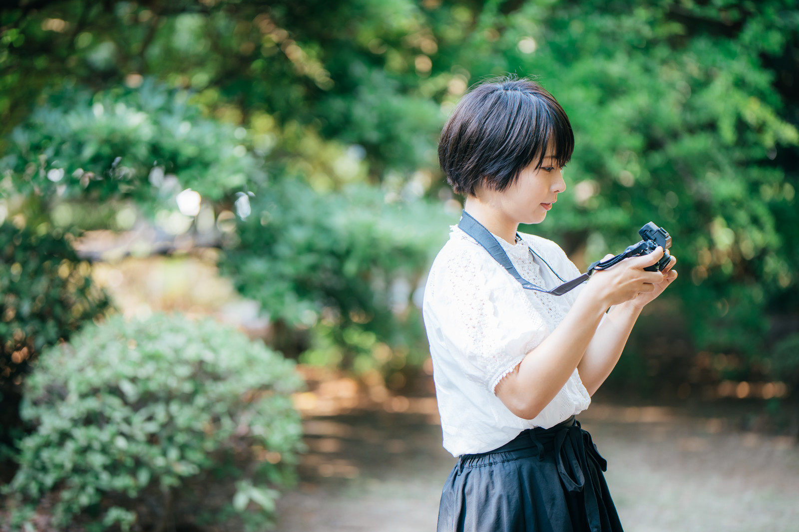 カメラ女子におすすめのカメラストラップ