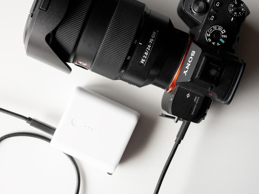 カメラマンにおすすめのモバイルバッテリー