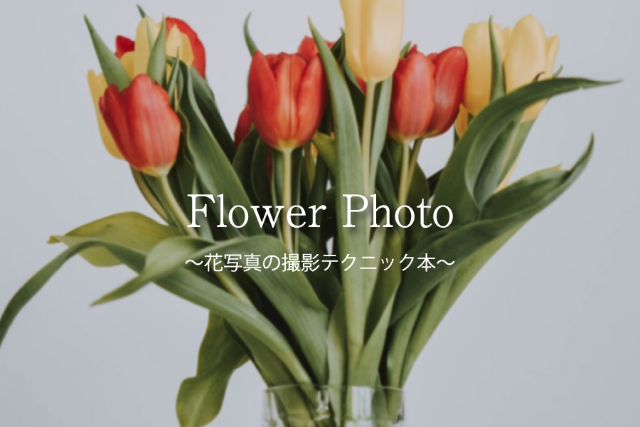 自然写真を楽しもう!「花」綺麗に撮れる方法が学べる書籍