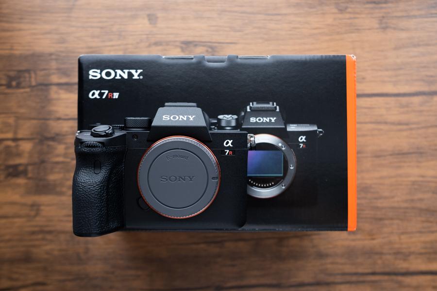 SONY α7RⅣを購入しました。
