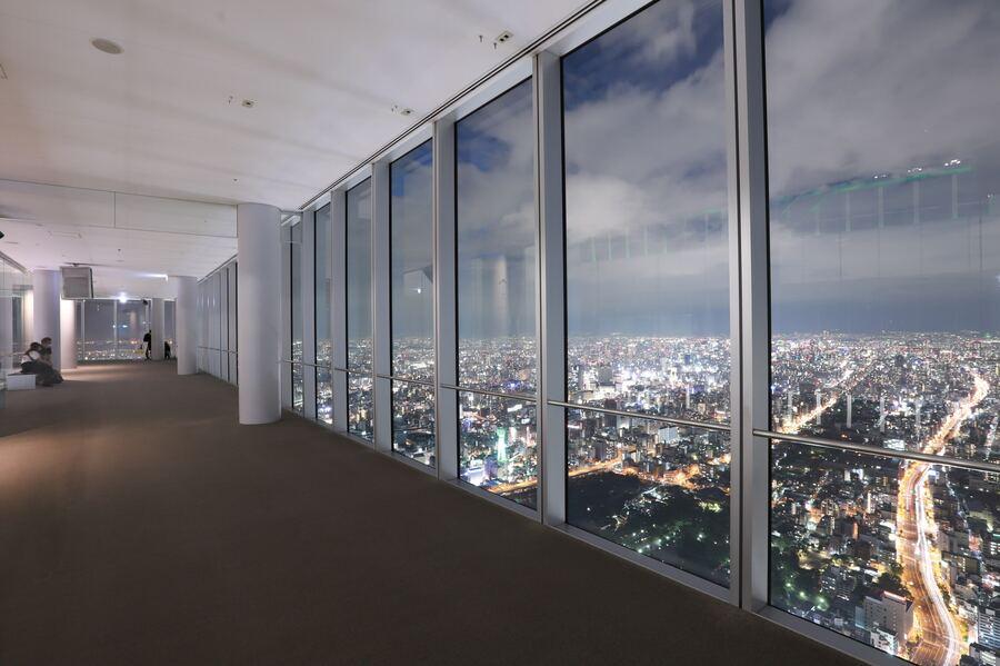 【ハルカス300】あべのハルカス展望台から一眼レフで夜景を撮ろう!