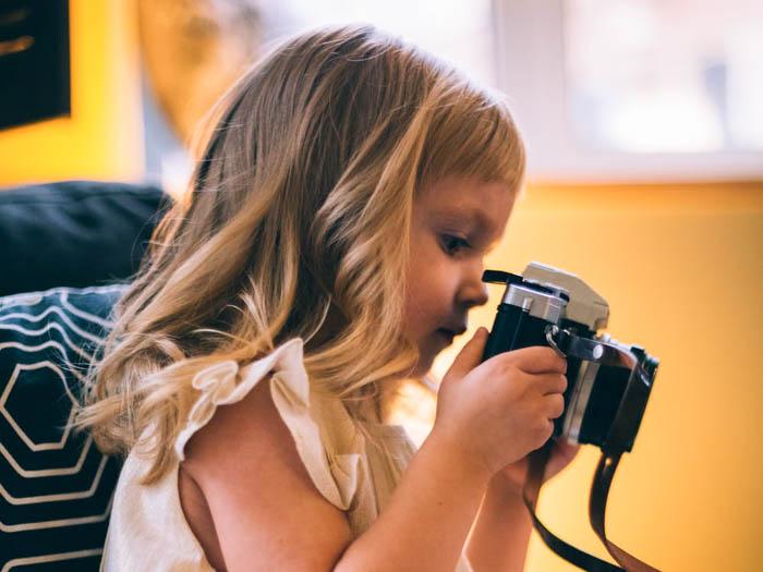 キッズ用カメラ